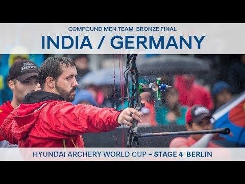 India v Germany – Compound Men Team Bronze Final   Berlin 2017