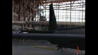IWM Duxford hangar B52 restoration and TR1 1995       VR MOVIE