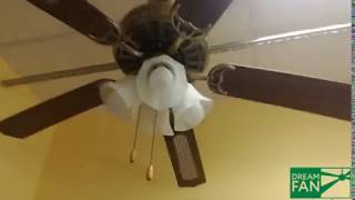 Смотреть видео потолочный вентилятор
