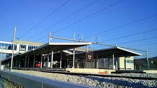 5248 청량리행 화물열차 만종역 통과영상
