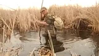 Рыбалка видео  Ловля щуки на острогу