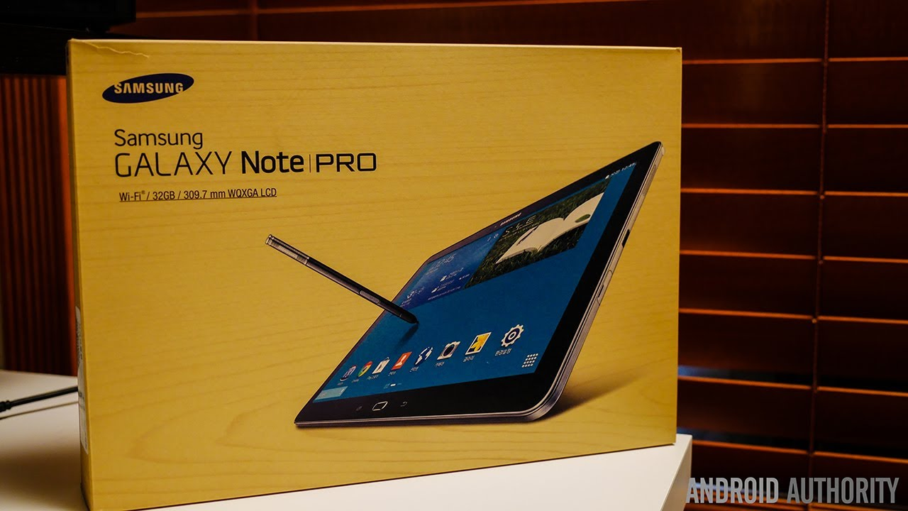 Samsung Galaxy NotePRO 12.2 Unboxing and First Impressions