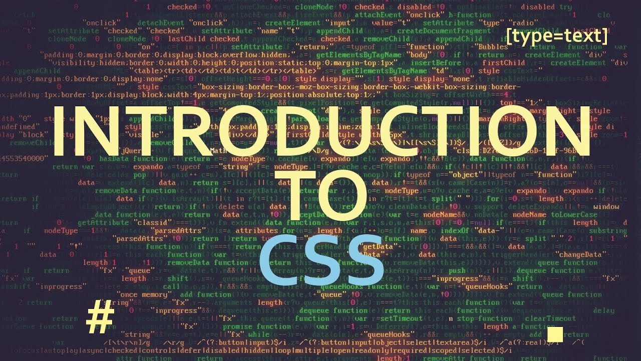 Introduction To Css Part 2