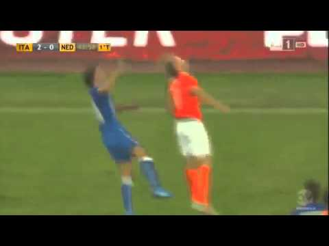 Italy 2   0 Netherlands International Friendly 04 9 2014 Ful