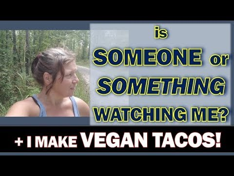 Solo RV Living: Am I Being Watched? Plus I Make Vegan Tacos
