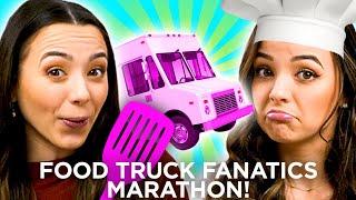 BEST MERRELL TWINS MOMENTS | Food Truck Fanatics Marathon