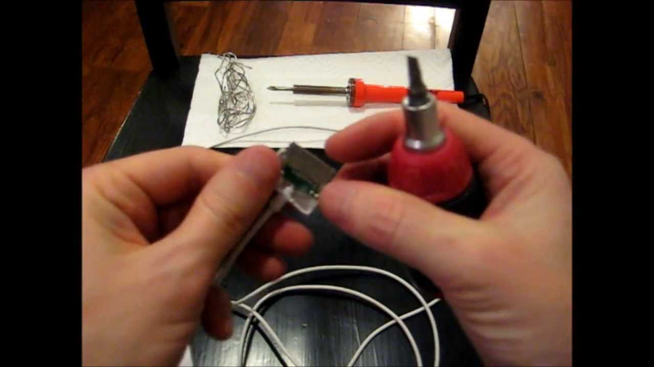 How To Fix An Apple Iphone Ipod Cable Charger What Is Inside Power Supply Connectors 4 Pin Fan Wiring Diagram Wire Youtube