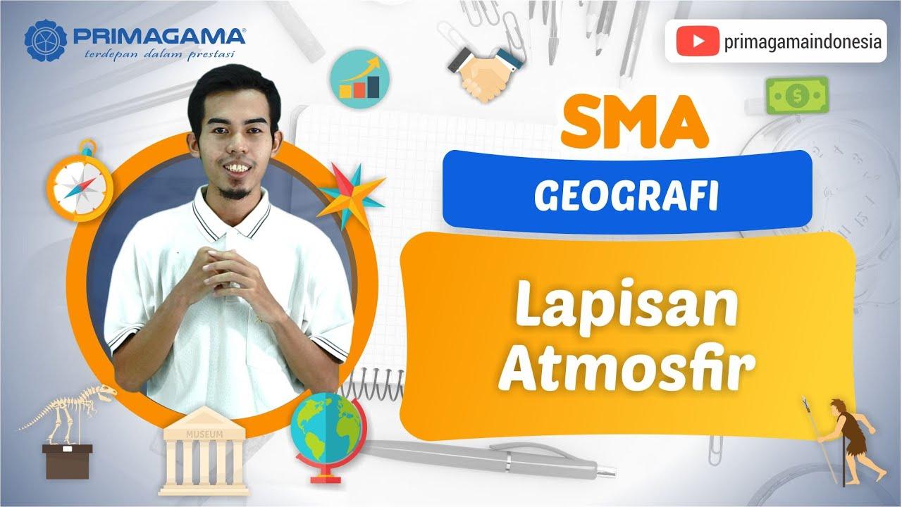 Video Pembelajaran | SMA | Geografi | Lapisan Atmosfir