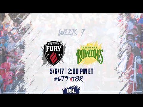 USL LIVE - Ottawa Fury FC vs Tampa Bay Rowdies 5/6/17