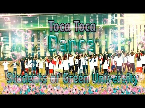 Fly project-Toca Toca dance    Dance by students of Green University    GUB    Healthy Entertainment
