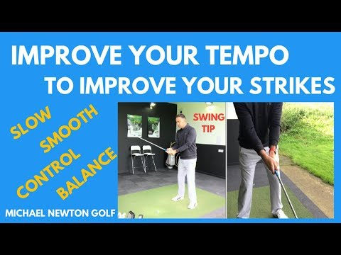 Improve Your Tempo & Ball Striking Golf Swing Tip