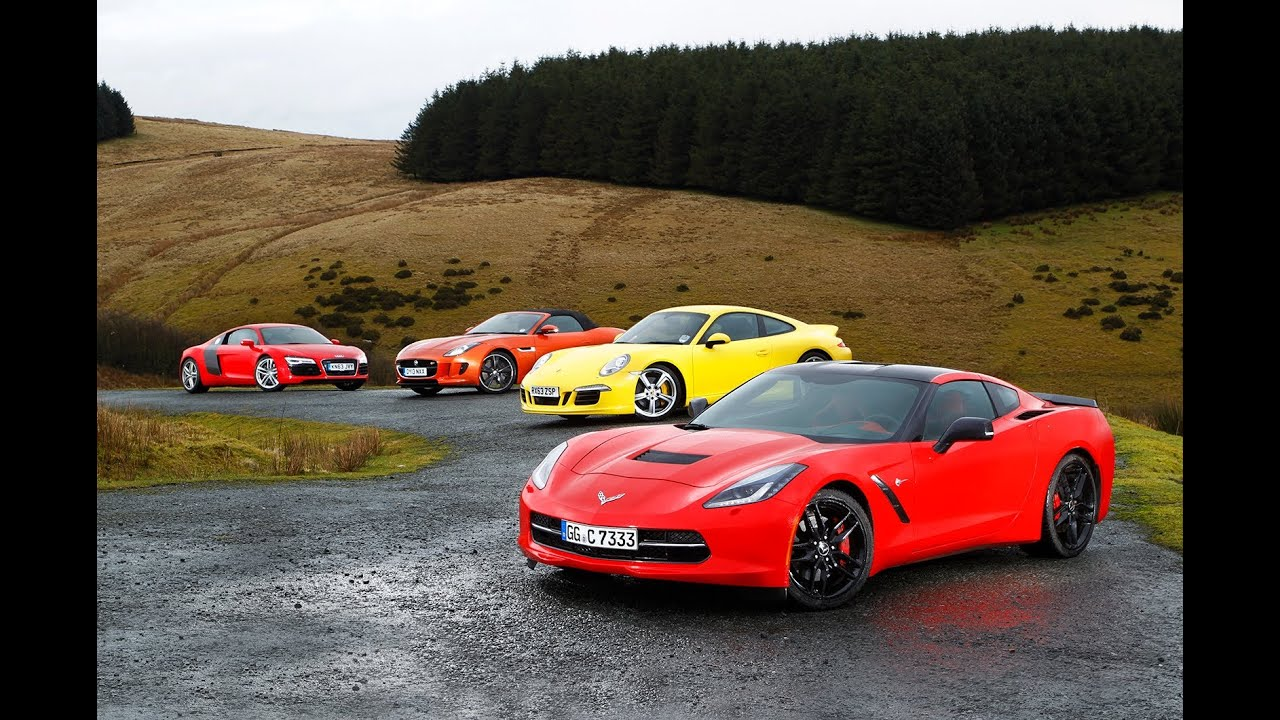 Usa 1 Europe 0 Chevrolet Corvette C7 Stingray Vs Porsche 911 Audi R8 And Jaguar F Type