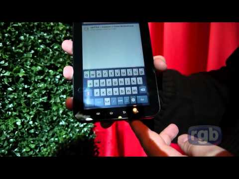 North American, Canadian Samsung Galaxy Tab Hands On