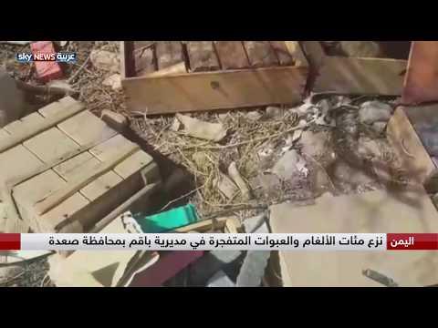 اليمن.. نزع مئات الألغام والعبوات المتفجرة في مديرية باقم بمحافظة صعدة  - نشر قبل 2 ساعة