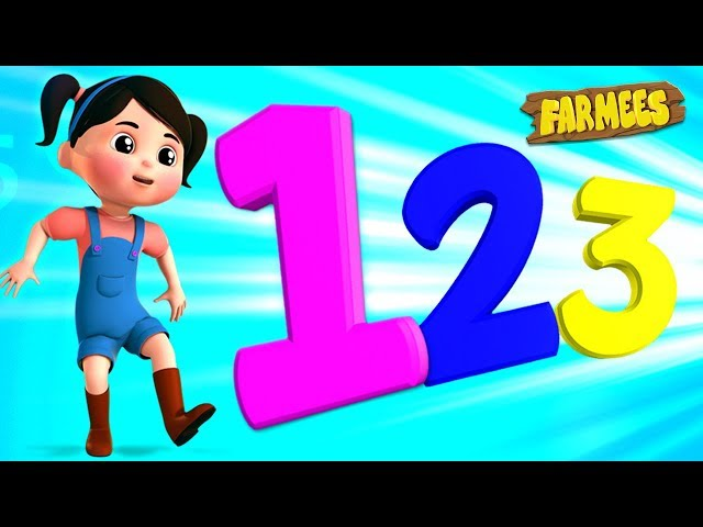 Numbers Song | Kids Songs & Nursery Rhymes | Learn To Count With Farmees