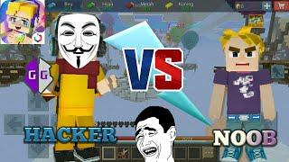 GAME GUARDIAN HAKCER VS NOOB [Bed War] [Blockman Go] screenshot 2