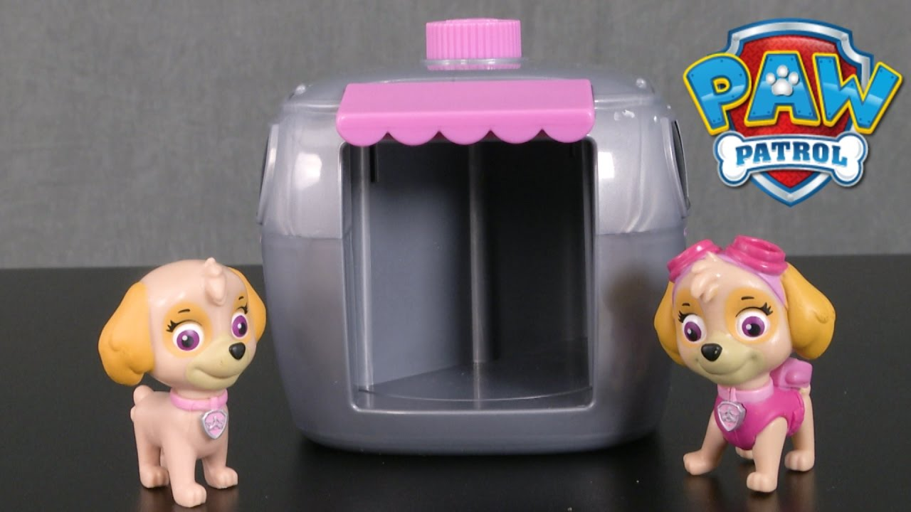 27e622844de Paw Patrol Skye Pup to Hero Playset from Spin Master - YouTube
