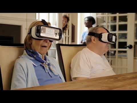 Virtual Reality for the Aging Population - YouTube