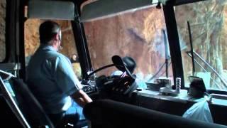 "Mt Rushmore Tours ~ Taking an 8' Bus through an 8' 4"" Tunnel"