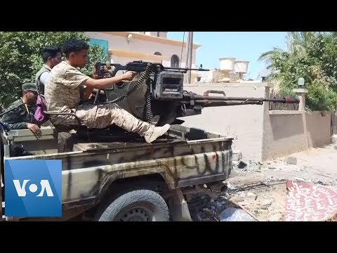 Libya Forces Advance On Airport West Of The Capital