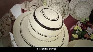 Artisanal processes and plant fibers techniques for talcos, crinejas and pintas weaving of the pinta'o hat