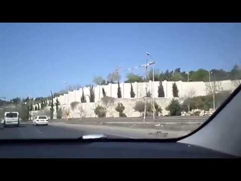Menachem Begin Jerusalem Highway Drive