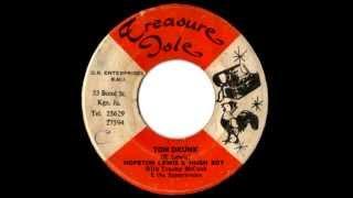 HOPETON LEWIS & U ROY - Tom drunk (1970 Treasure isle)