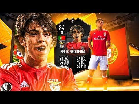THE BENFICA BEAST!? 84 TEAM OF THE TOURNAMENT JOAO FELIX PLAYER REVIEW! FIFA 19 Ultimate Team