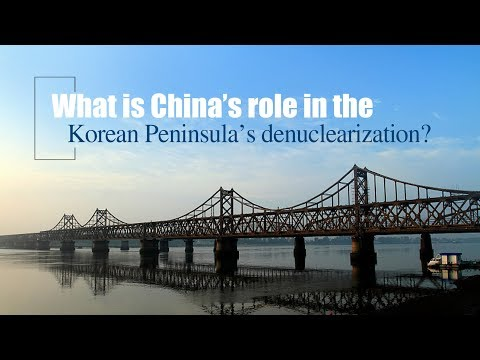What is China's role in the Korean Peninsula's denuclearization?