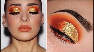 Orange & Yellow Gold | Makeup Tutorial
