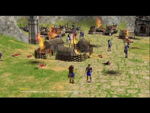 Age Of Mythology the Titans - Mission 5. Just Enough Rope