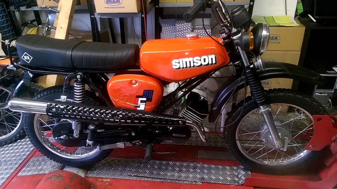 simson sw s51 enduro hs1 pr fstand leistungsmessung tuning. Black Bedroom Furniture Sets. Home Design Ideas