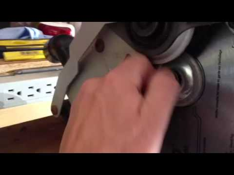 How to install a new miter saw blade youtube how to install a new miter saw blade keyboard keysfo Choice Image