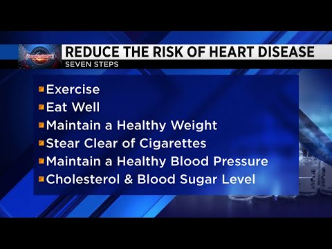 7 steps to reduce risk of heart disease may work to prevent certain cancers, diabetes