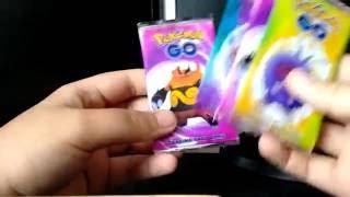 Pokemon Go! Booster packs opening!