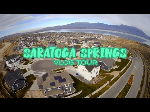 Living In Saratoga Springs, Utah   Full Vlog Tour - Pros And Cons