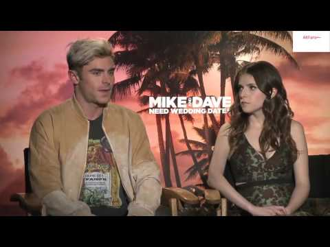 """Anna Kendrick & Zac Efron """"Mike & Dave"""" Interview"""