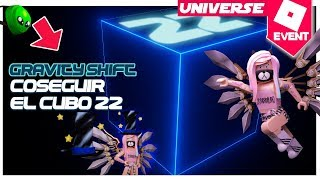 Cubo 22 Evento universe gravity shift tutorial ROBLOX en español hat of void