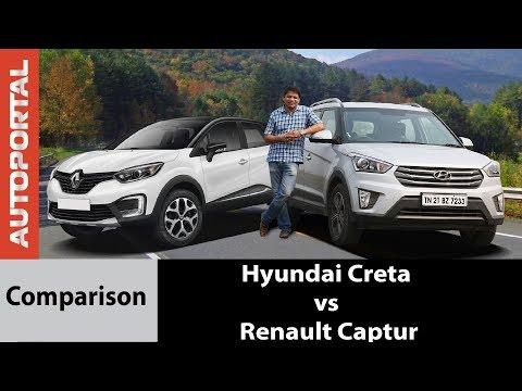 Hyundai Creta vs Renault Captur - Comparison Review - Autoportal