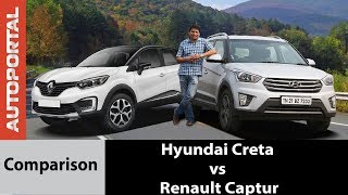 Hyundai Creta vs Renault Captur - Comparison Review - Autoportal