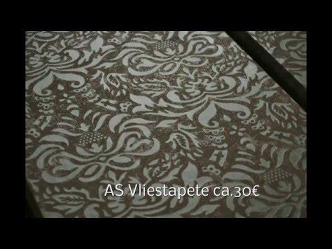 Gut bekannt TV Regal Tapezieren - YouTube KZ08