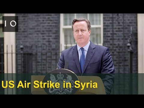 PM's statement on US air strike in Syria