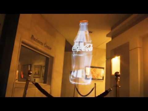 Coca Cola Leadership Conference 2014 , Sofia, Bulgaria free format hologram