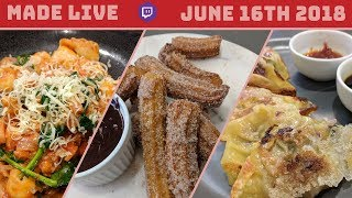Live Cooking | Make With Molly: Gyoza, Gnocchi & Churros | #222