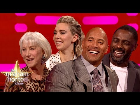 Hobbs & Shaw On The Graham Norton Show