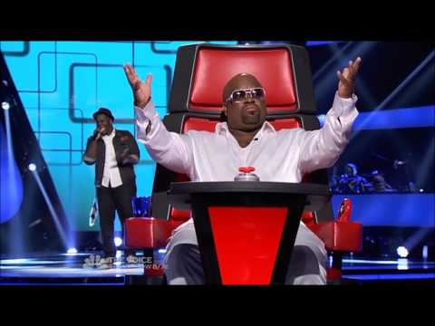 The voice best of season 3 Trevin Hunte blinds