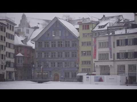 First snow in Zurich