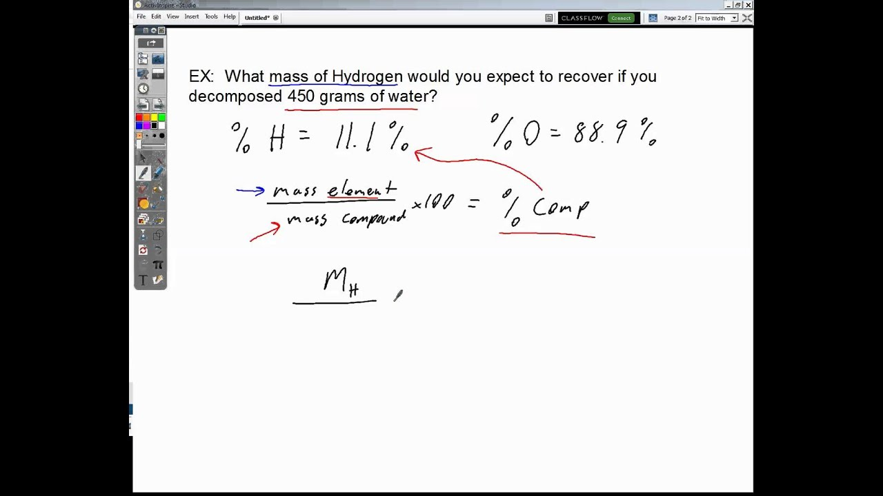 Percent Composition Word Problems