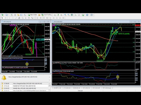 Bitcoin USD Live chart with trading signals BTC/USD Intraday - YouTube