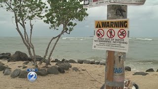 Waikiki beaches closed due to 500,000 gallon sewage spill